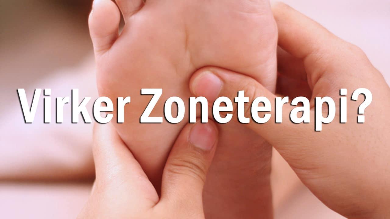 virker zoneterapien